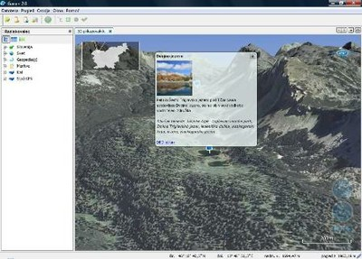 3D zemljevid Gaea+